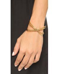 Gorjana | Metallic Skyler Cuff Bracelet - Gold | Lyst