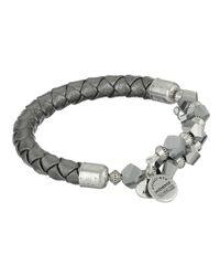 ALEX AND ANI - Metallic Retro Glam Splendor Wrap Bracelet - Lyst
