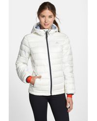 Adidas | White 'frostlight' Climaheat Quilted Down Jacket | Lyst