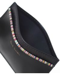 Paul Smith - Black Leather Card Holder for Men - Lyst