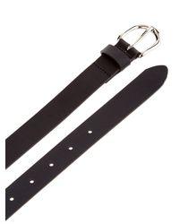 Étoile Isabel Marant - Black Skinny Leather Belt - Lyst