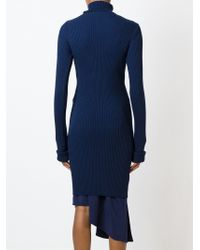 Jacquemus - Blue Jumper Dress - Lyst