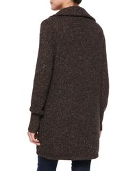Joie - Brown Maurise Multicolor Tweed Cardigan - Lyst
