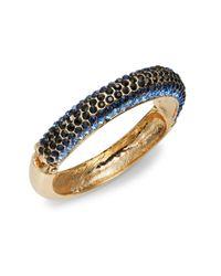 Catherine Stein - Blue Glittering Bangle Bracelet - Lyst