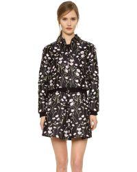 Giambattista Valli | Black - Tweed Jacket - Women - Acrylic/polyamide/polyester/virgin Wool - 46 | Lyst