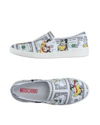 Moschino | White Low-tops & Trainers for Men | Lyst