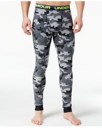 Under Armour - Gray Amplify Camo Leggings for Men - Lyst
