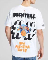 Been Trill - White Nba Logo Knicks Tee for Men - Lyst