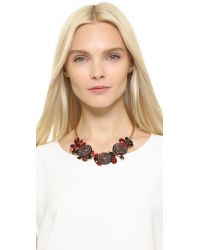 Marni | Red Strass Necklace - Fire | Lyst