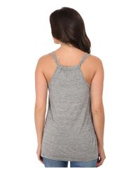 Stetson | Gray Viscose Rayon Knit Top | Lyst