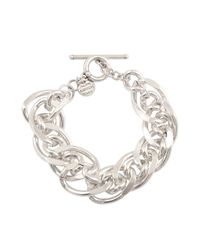 Philippe Audibert | Metallic Chain Links Bracelet | Lyst