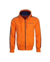 Ralph Lauren | Orange Cotton-blend-fleece Hoodie for Men | Lyst