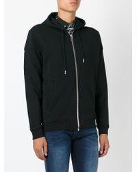 DIESEL   Black Zipped Hoodie for Men   Lyst