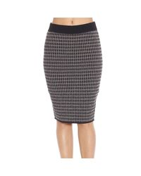 Manila Grace - Black Skirt - Lyst