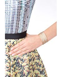 Carolina Bucci | Metallic 18K Mixed Gold Stacked Bangle Bracelet | Lyst