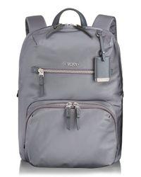 Tumi | Black 'voyageur Halle' Nylon Backpack | Lyst