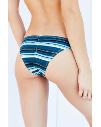 Urban Outfitters - Blue Skye Ruched Back Cheeky Hipster - Lyst