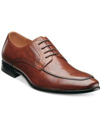 Florsheim - Brown Burbank Apron Toe Oxfords for Men - Lyst
