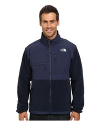 The North Face - Blue Denali Jacket for Men - Lyst