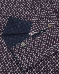 Ted Baker | Blue Target Print Shirt for Men | Lyst