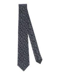 Lanvin - Gray Tie for Men - Lyst