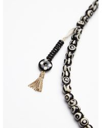 Free People | Natural Kipu Tassel Mala Necklace | Lyst