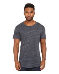 Alternative Apparel - Blue Eco Space Dye Jersey Journeyman T-shirt for Men - Lyst
