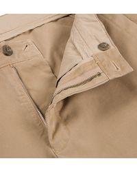 Sunspel - Natural Men's Cotton Twill Chino Trouser for Men - Lyst