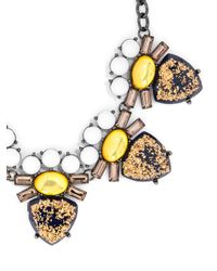 BaubleBar - Metallic Stardust Crown Vic Collar - Lyst
