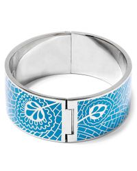 Liberty | Blue Teal Hera Solid Cuff | Lyst