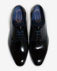 Ted Baker - Black Formal Derby Shoe for Men - Lyst