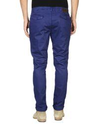 Alessandro Dell'acqua - Blue Casual Pants for Men - Lyst