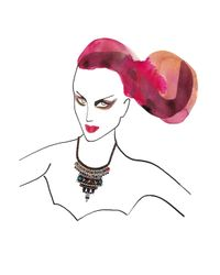 Iosselliani | Multicolor Crystal Necklace | Lyst