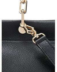 Max Mara - Black Leda Leather Cross-Body Bag - Lyst