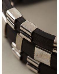 Isabel Marant - Black Adjustable Bracelet - Lyst