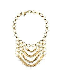 DANNIJO | Metallic Ari Necklace | Lyst