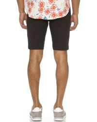 Opening Ceremony - Black Tac Pique Sideline Shorts for Men - Lyst