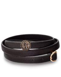 Astley Clarke - Purple London Nights Nappa Leather Bolsena Bracelet - Lyst