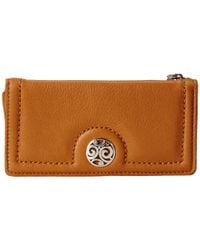 Brighton - Brown London Groove Large Wallet - Lyst