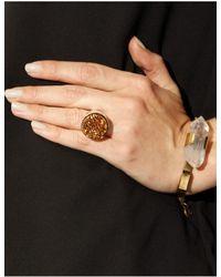 Pixie Market - Metallic Galaxy Pyrite Stone Ring - Lyst