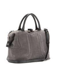 ed9c89bdacb69 Lyst - See By Chloé Kay Suede Tote in Gray
