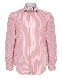 Thomas Pink | Red Hammond Stripe Classic Fit Shirt for Men | Lyst