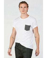 True Religion | White Horseshoe Monogram Mens T-shirt for Men | Lyst