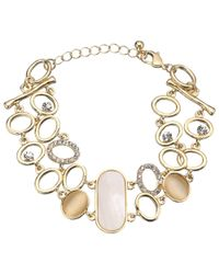 John Lewis - Metallic Mother Of Pearl Bangle - Lyst