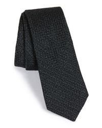 W.r.k. | Black Silk & Cotton Tie for Men | Lyst