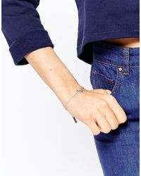 KENZO | Metallic Rhodium Sterling Silver Mini Tiger Bracelet | Lyst