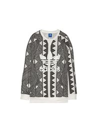 Adidas Originals - Gray Sweater W - Lyst