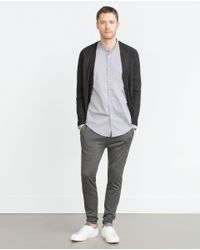 Zara | Black Viscose Cardigan for Men | Lyst