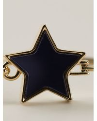 Marc By Marc Jacobs - Blue Star Bangle - Lyst