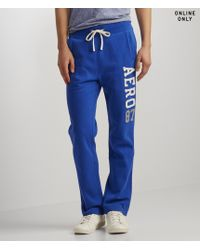 Aéropostale | Blue Aero87 Slim Sweatpants | Lyst